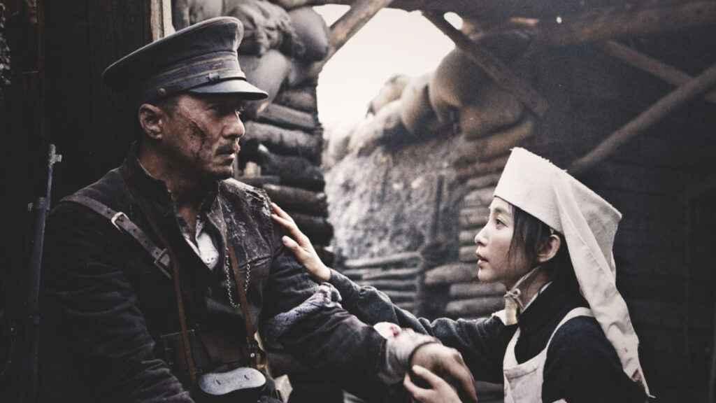 Jackie Chan and Li Bingbing in 1911 (2011) the Movie