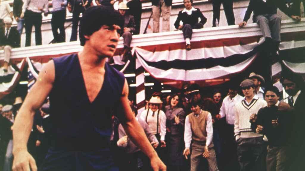 Jackie Chan in Battle Creek Brawl (1980)