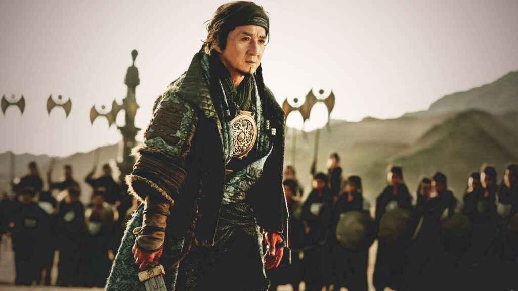 Jackie Chan's historical film Dragon Blade (2015)
