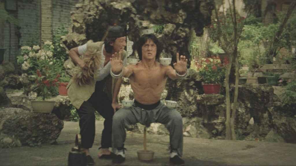 Jackie Chan's training in Drunkern Master (1978)